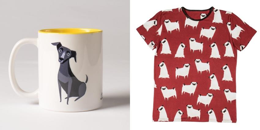 To sklep stworzony z myślą o małych miłośnikach psów.