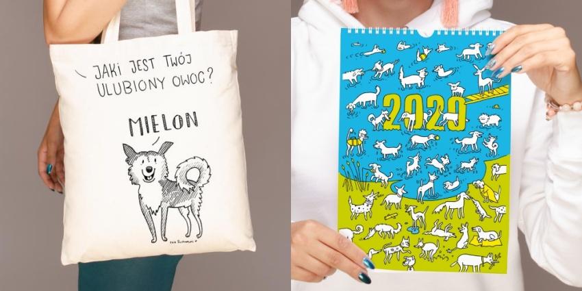 Od niedawna najpopularniejsze obrazki można zakupić w wersji koszulkowej, nadrukowane na torbie, jako plakat, a także jako książkę!